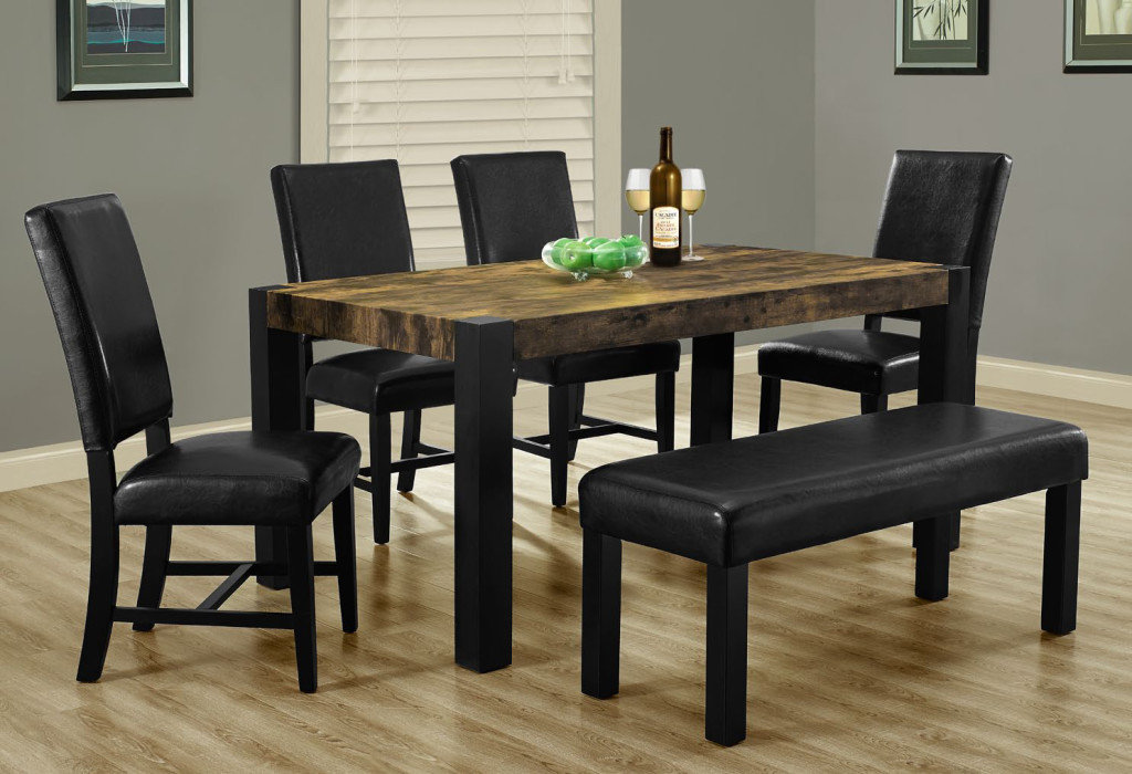 amazing set de cuisine pices with table de cuisine avec banc. Black Bedroom Furniture Sets. Home Design Ideas